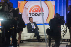 """I am in fact H.I.V.-positive,"" Charlie Sheen said in an interview with Matt Lauer on NBC's ""Today"" show. Credit Andrew Burton/Getty Images"