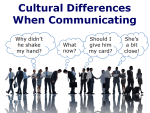 Communication & Diversity in the Workplace